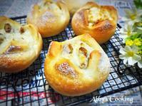 核桃奶油乳酪麵包(低溫冷藏發酵)