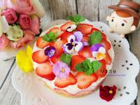 免烤箱 - 草莓乳酪蛋糕