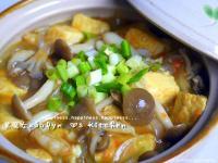「好菇道菇idea」秋の菇菇蟹黃豆腐煲