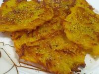 愛烹飪。馬鈴薯絲絲餅