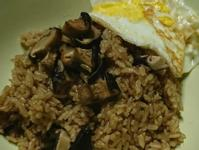香菇炊飯(電子鍋)