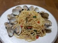 香蒜蛤蜊義大利麵