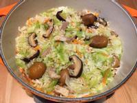 【寶寶食譜】高麗菜炊飯