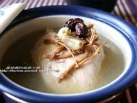 [韓式]養身補氣的糯米雞湯