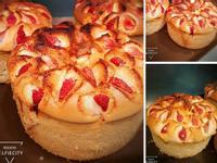 草莓 蘋果 戚風蛋糕