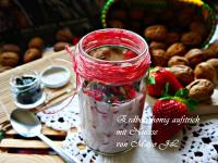 草莓蜂蜜起司麵包抺醬佐堅果粒