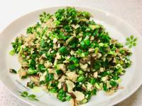 韭菜香菇炒蘿蔔