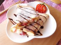 法式草莓起司蛋餅-鬆餅粉