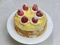 夢幻水果千層蛋糕 在家簡單就能做