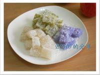 簡易版的電鍋不敗料理-西谷米水晶糕