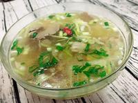 袖珍菇芹菜湯--快手十分鐘