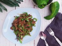 青椒炒牛肉(便當菜)