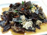 香辣豆油木耳炒蛋 低卡家常菜 便當菜