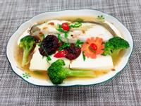 鱈魚金針菇豆腐煲(水波爐料理)