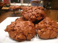 美式全巧克力軟餅乾