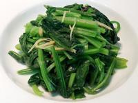 低油薑絲清炒菠菜 清粥小菜 五分鐘家常菜