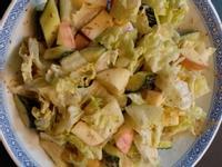 簡單蔬果沙律。