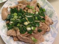 乾煎青葱松阪豬肉