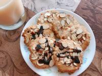 椰絲杏仁餅乾