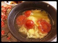 番茄蛋花湯 (露營OK)