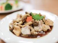 【吳双の愛妻料理】康寶鮮味炒手-鴻喜菇炒雞肉