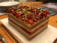 草莓西瓜蛋糕