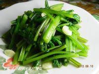 ㄚ曼達的廚房~清炒菠菜