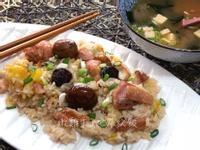 嫩雞栗子地瓜炊飯【豪華版】