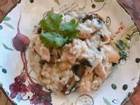 義式雞肉野菇燉飯- Rissoto