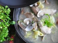 芥菜心鮑魚菇燉雞湯