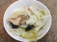 低卡清蒸雞肉香菇高麗菜