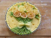母親節✿玫瑰蘋果塔