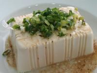 涼拌和風芥末蔥花豆腐 三分鐘家常菜