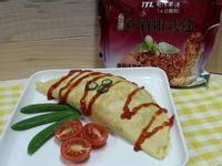 紅酒帕式達蕃茄肉醬歐姆蛋~台酒創意料理