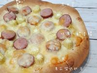 墨西哥餅熱狗披薩