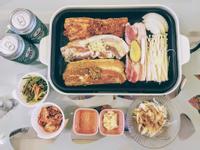 家常韓式烤肉套餐 烤豬五花肉