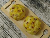 焗烤玉米培根麵包