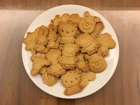 無奶糖蛋低油簡易版蜂蜜壓模造型餅乾