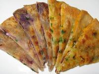 地瓜蔥油餅