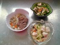 鮮食🐾蔬果滷牛腱 水蓮沙拉 白菜魚羹湯