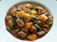 芒果燒雞腿  水果創意料理 下飯家常菜