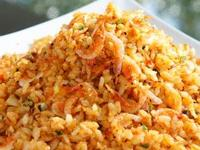 我的料理個人秀 ~~ 黃金櫻花蝦蝦卵炒飯