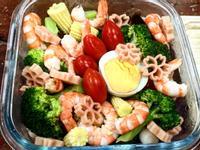 夏日清爽花椰菜鮮蝦沙拉