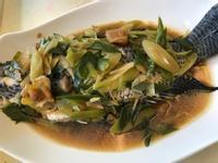 古早味醬筍魚