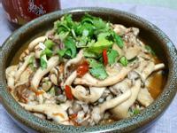 海鮮干貝醬燴秀珍菇