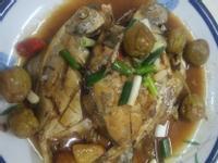 梅汁佃煮白鯧魚