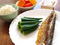 【慢性腎臟病】秋-香烤秋刀魚套餐