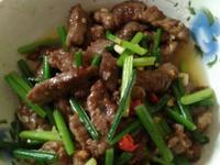 韭菜牛肉絲