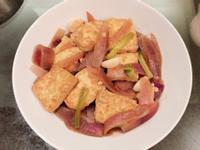 蔥燒洋蔥豆腐