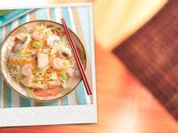 【腹膜透析】海鮮炒麵